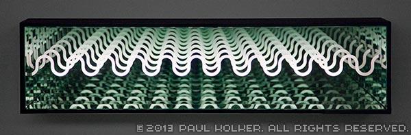 Paul Kolker sine horizon, 2013 - Copyright 2013 Paul Kolker contemporary artist. All Rights Reserved.